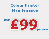 colour printer maintenance Chesterfield